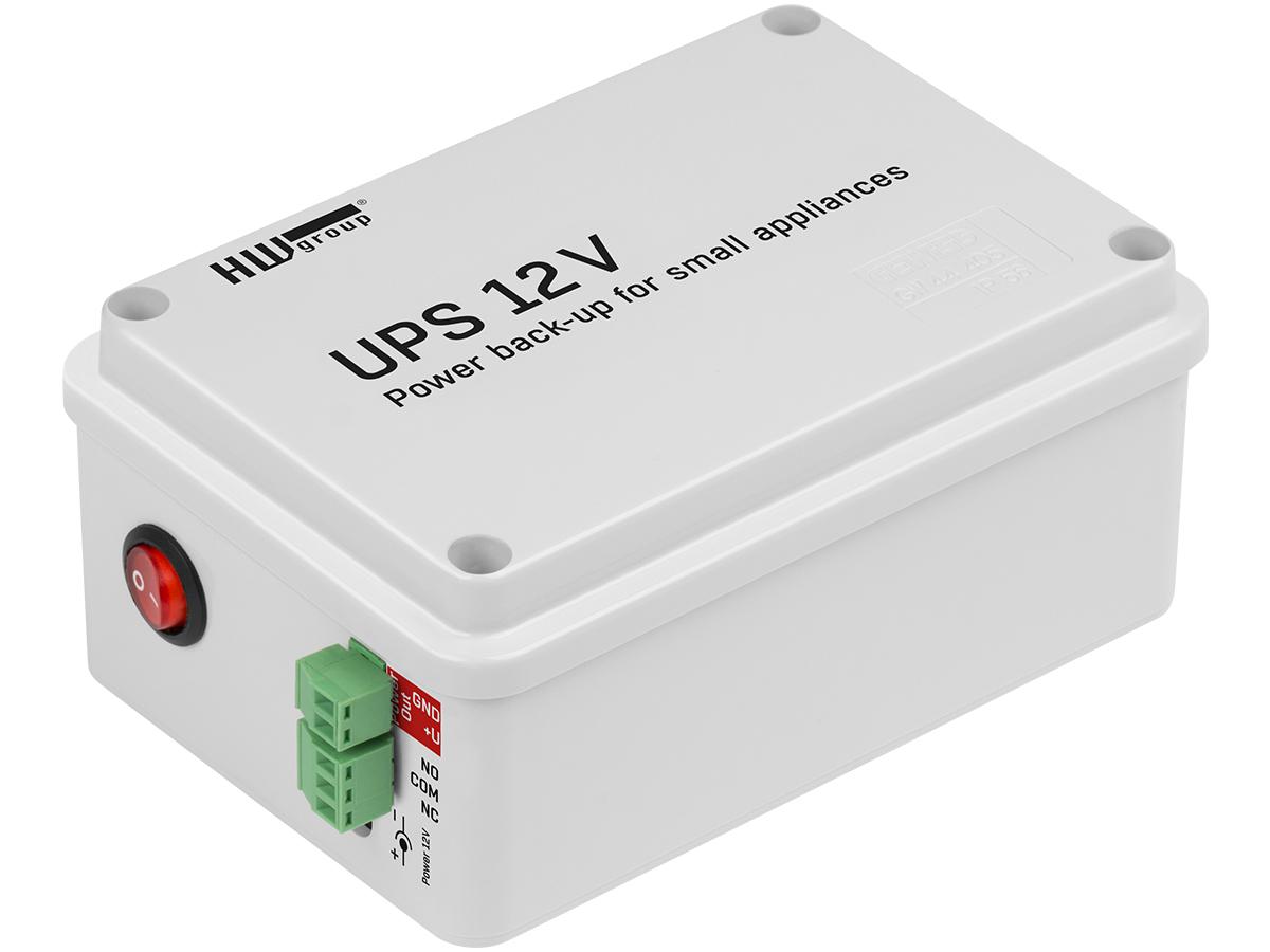 UPS 12V záložní zdroj s indikací výpadku napájení