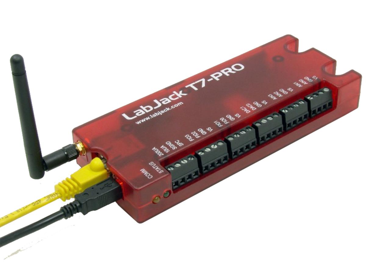 T7-Pro měřící karta LabJack