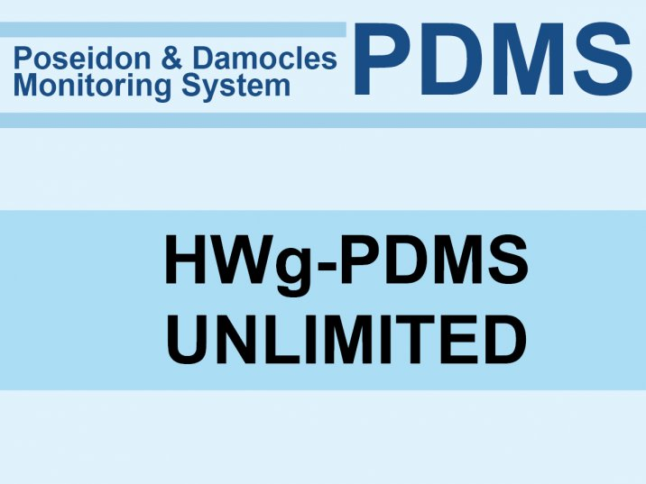 HWg-PDMS unlimited : Monitorovací software